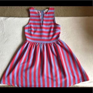 Everly Striped Dress NWOT Med